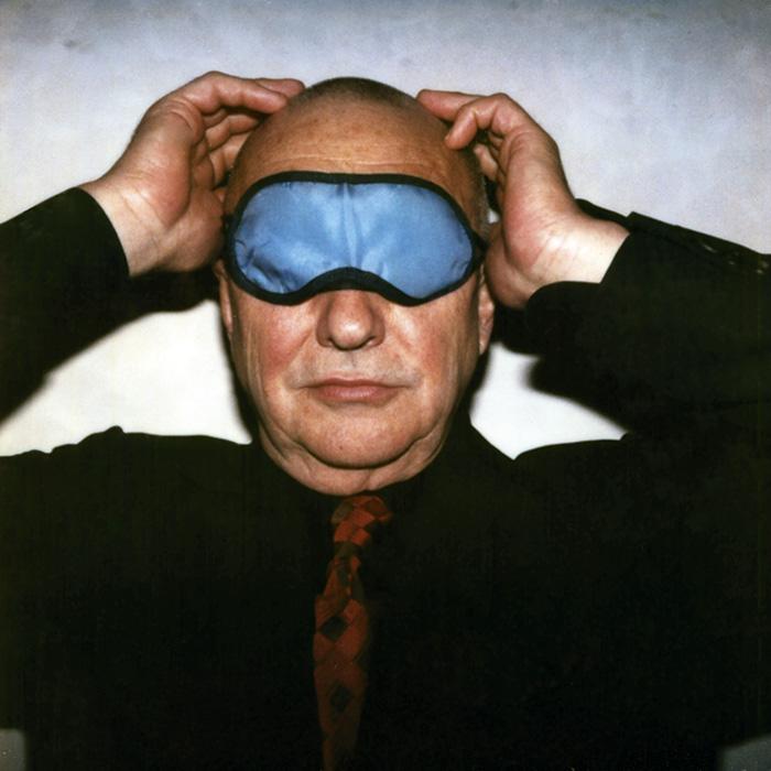 Das Bild zeigt ein Portrait von Georg Baselitz von Freddy Langer