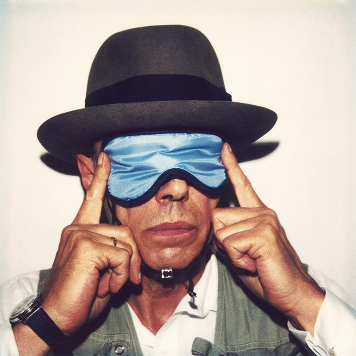 Das Bild zeigt ein Portrait von Joseph Beuys von Freddy Langer
