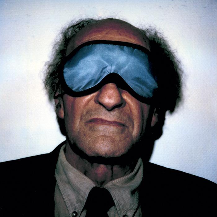 Das Bild zeigt ein Portrait von Eduardo Chillida von Freddy Langer