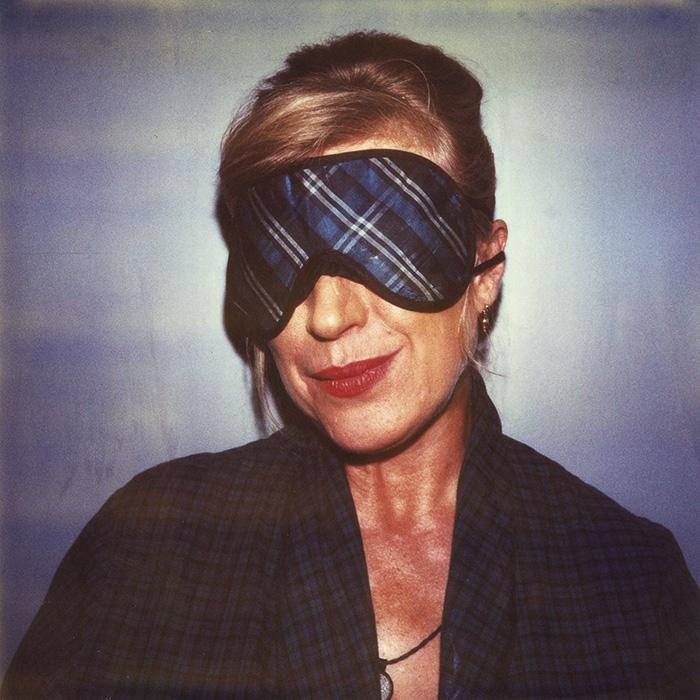 Das Bild zeigt ein Portrait von Marianne Faithfull von Freddy Langer