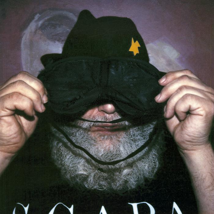 Das Bild zeigt ein Portrait von A. R. Penck von Freddy Langer