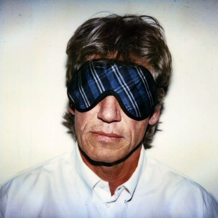 Das Bild zeigt ein Portrait von Roger Waters von Freddy Langer