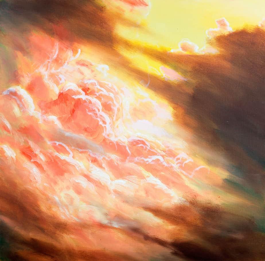 Sebastian Gahntz – Wolkenstudie