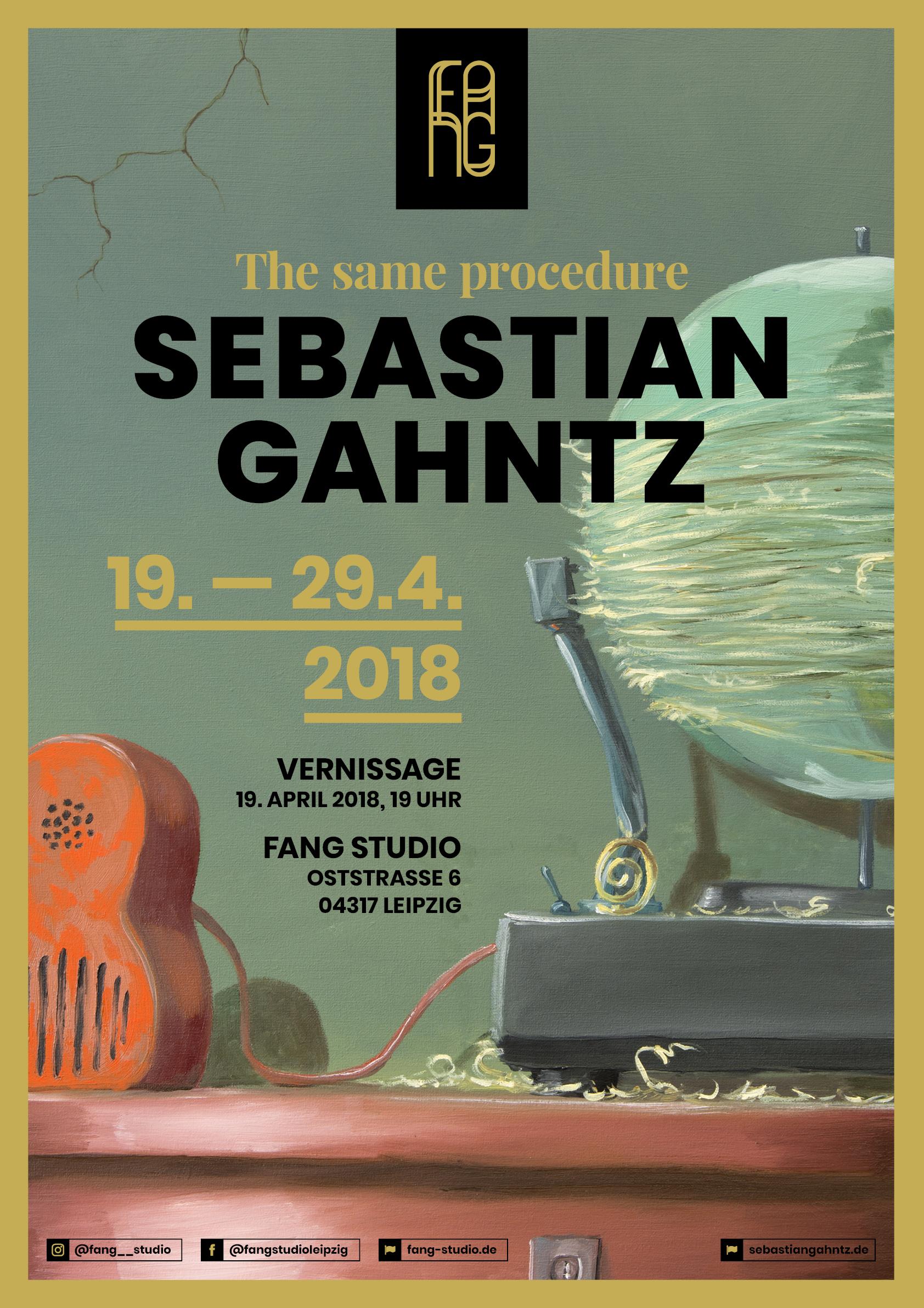 Sebastian Gahntz – The same procedure
