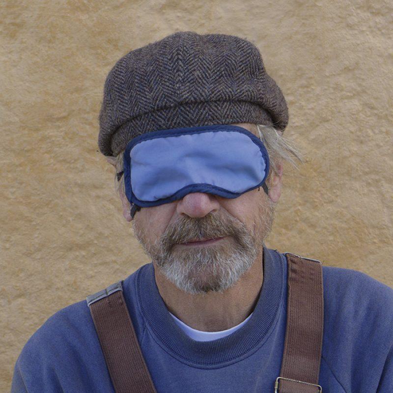 Das Bild zeigt ein Portrait von Jeremy Irons von Freddy Langer