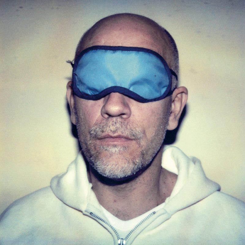 Das Bild zeigt ein Portrait von John Malkovich von Freddy Langer