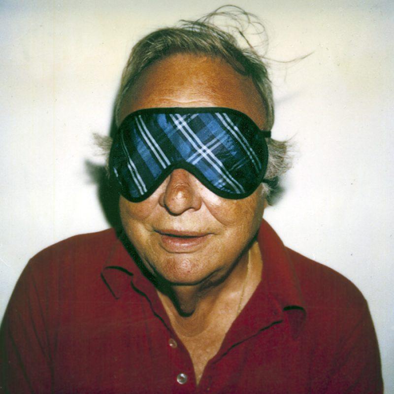 Das Bild zeigt ein Portrait von Robert Mapplethorpe von Freddy Langer