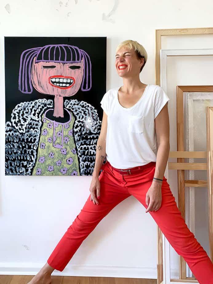 Katharina Arndt Studioportrait